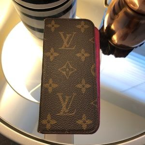 Authentic Louis Vuitton iPhone 8 cell phone case